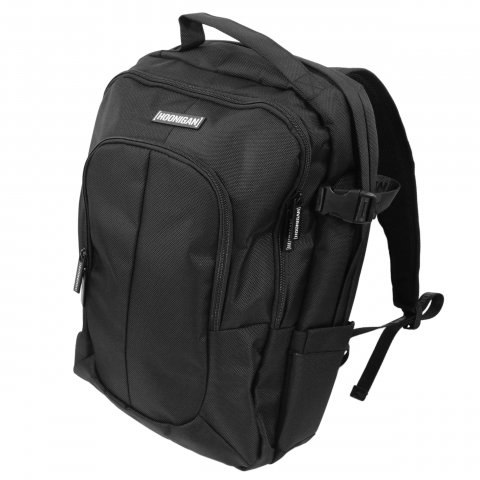 HOONIGAN  METAL BAR BACKPACK BLACK