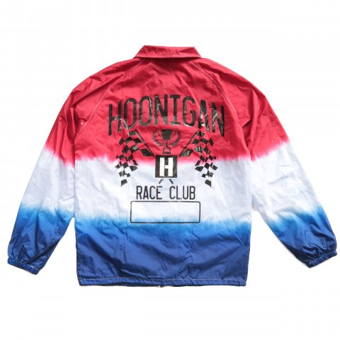 HOONIGAN  HNGN RACING CLUB JACKET RED/BLUE