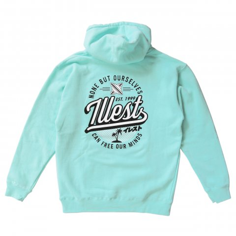 illest  BADGE HOODY MINT