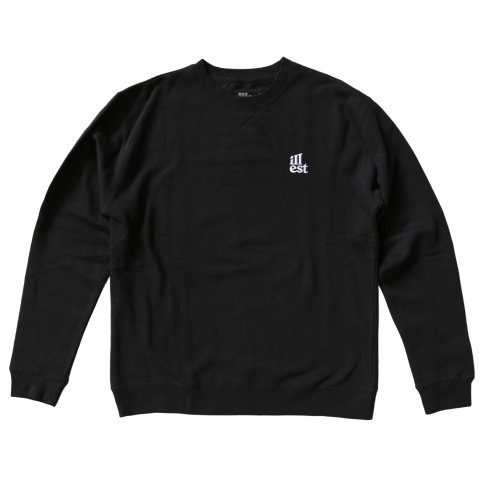 illest  BOGO EMBROIDERY CREW NECK BLACK