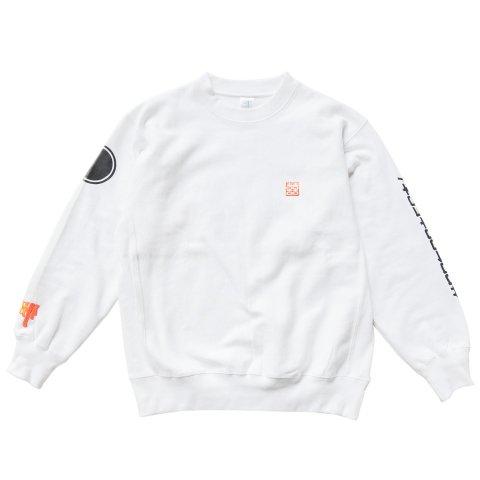 Hectopascal  HCTO Sweat Shirts White / Neon Orange