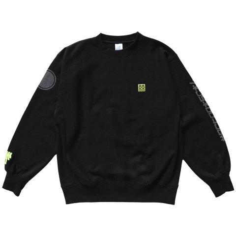 Hectopascal  HCTO Sweat Shirts Black/Reflector/Maxyellow