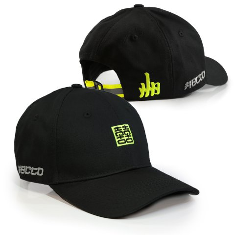 Hectopascal  HCTO Hat Black/Max yellow
