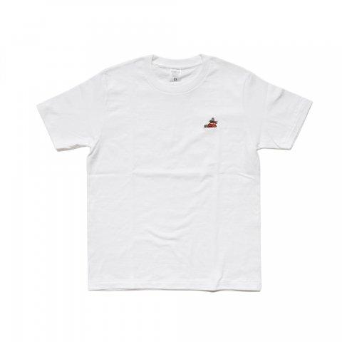 Hectopascal  SUU MENS Tシャツ WHITE/SUU
