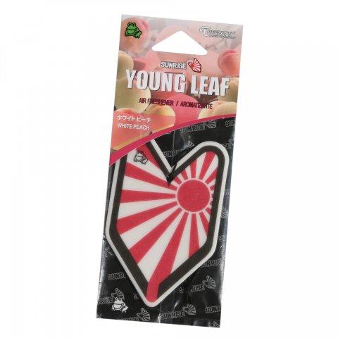 SUNRISE  YOUNG LEAF Air Freshener ピーチの香り
