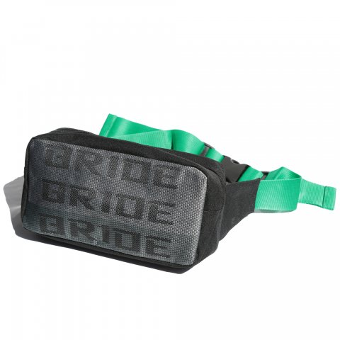BRIDE  SHOULDER BAG GRAY/GREEN
