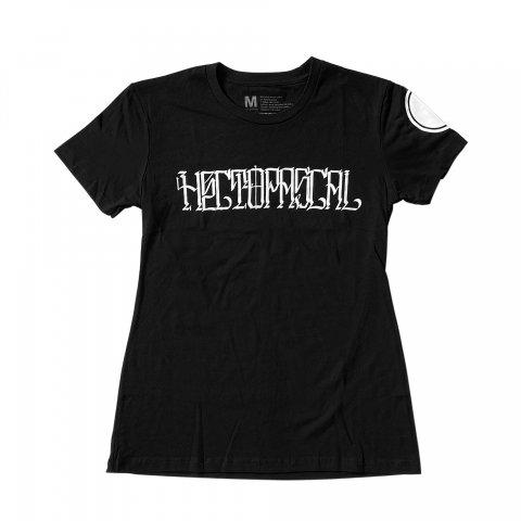 Hectopascal 2020 S/S   HECTOPASCAL Logo WMN Tee  Black×White