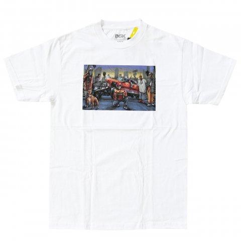 DGK  Nosotros T-Shirt White