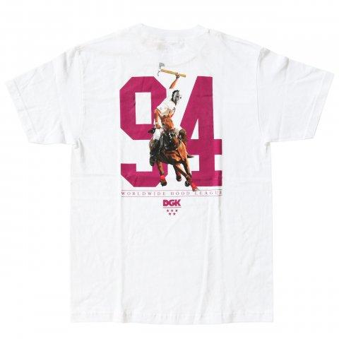 DGK  Hood League T-Shirt White