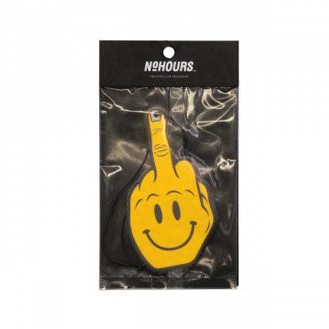 NO HOURS  HAPPY FINGER Air Freshener