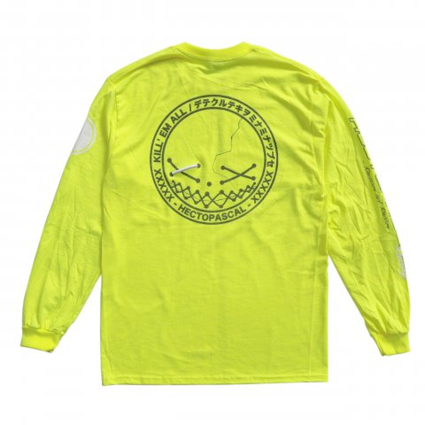 Hectopascal  KILLEM LS Tee Reflector/Neon Yellow