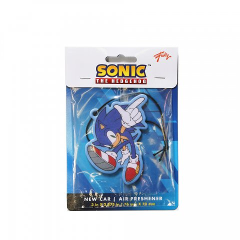 SONIC THE HEDGEHOG  Air Freshener