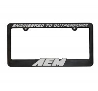 AEM AEM usa br />license plate frames