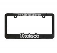 takeda  license plate frames
