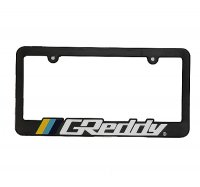 GReddy  license plate frames