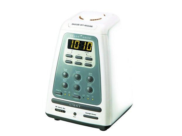 光・音・香り・振動で起こす目覚まし時計 サウンドオアシス BLS-100