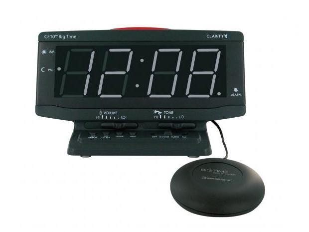 振動式目覚まし時計 ビッグタイム