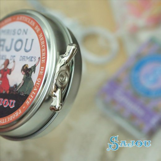 フランス SAJOU ラベル缶 糸セット BTE-MET-11【ビビットカラー】【画像4】