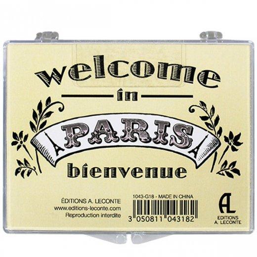 フランス マグネット エディションルコント【wecome in paris】【画像2】
