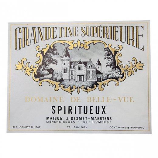 フランス ヴィンテージ リキュールラベル【grande fine sup?rieure】