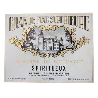 味紙 ラベル チケット 伝票 フランス ヴィンテージ リキュールラベル【grande fine sup?rieure】
