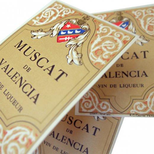 フランス ヴィンテージ リキュールラベル【Muscat Coop】【画像3】