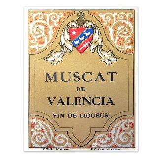 フランス ヴィンテージ リキュールラベル【Muscat Coop】