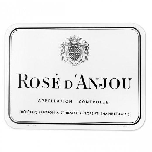 フランス ヴィンテージ リキュールラベル【ros? d' anjou】
