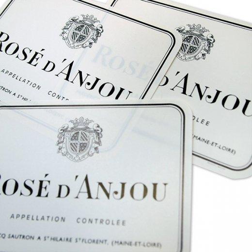 フランス ヴィンテージ リキュールラベル【ros? d' anjou】【画像2】