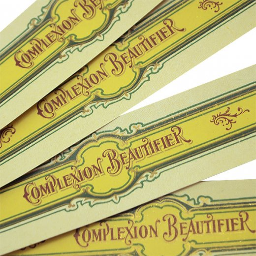 フランス ヴィンテージ コスメラベル ローズ【Complexopn Beautifier (Cosmetics)】【画像5】