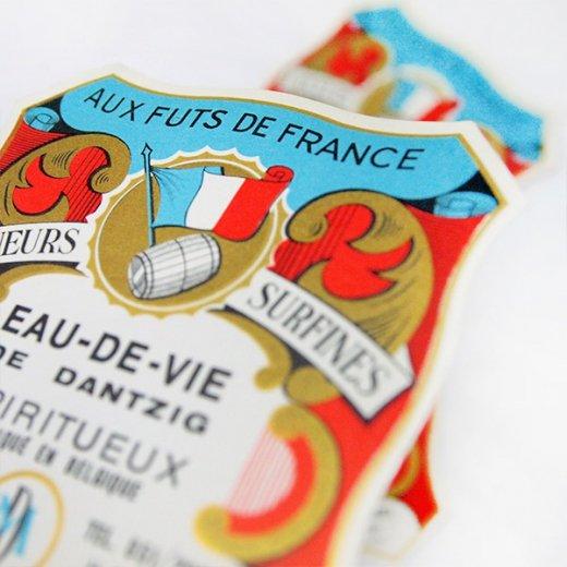 フランス ヴィンテージ ワインラベル【Aux futs de france】【画像5】