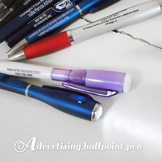 デッドストック USA アドバタイジング ボールペン【12本set】【画像4】