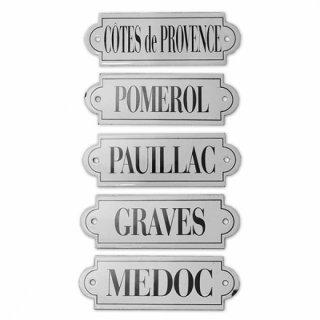 フランス  ヴィンテージ ワインプレート