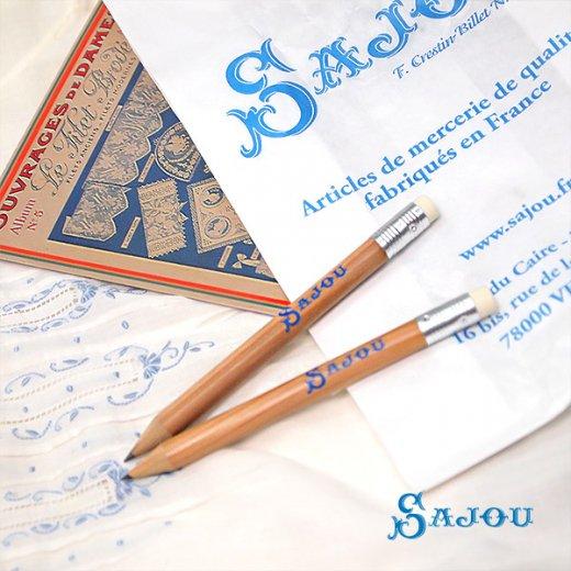フランス SAJOU ロゴペンシル 鉛筆【画像6】