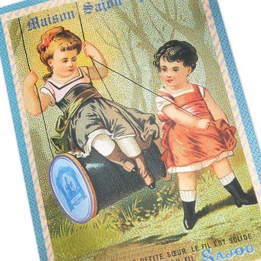 フランス SAJOU ポストカード【maison sajou paris】【画像2】