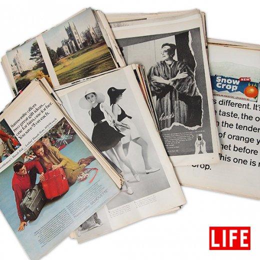 【予約商品】USA LIFE 雑誌 切り抜き ランダム 100枚セット (発送まで7日営業日程お時間いただいております)【画像2】