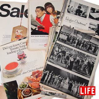 【予約商品】USA LIFE 雑誌 切り抜き ランダム 100枚セット (配送まで15日程お時間いただきます)