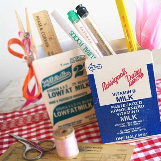 1960年代 デッドストック パッケージ (ビタミンミルク)【画像5】
