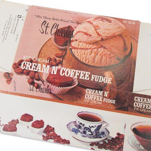 1960年代 デッドストック パッケージ (Cream coffee)【画像3】