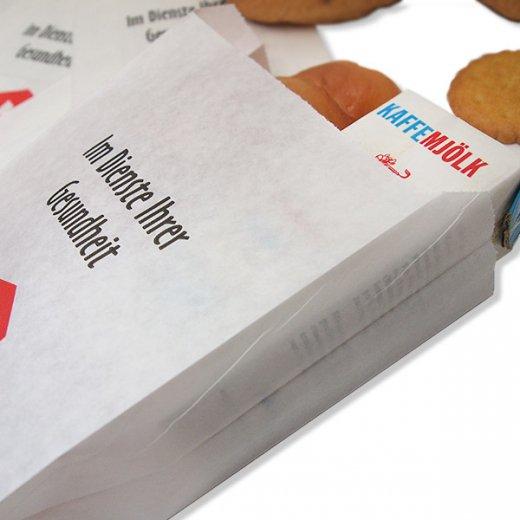 マルシェ袋 ドイツ 海外市場の紙袋(薬局) 5枚セット【画像2】