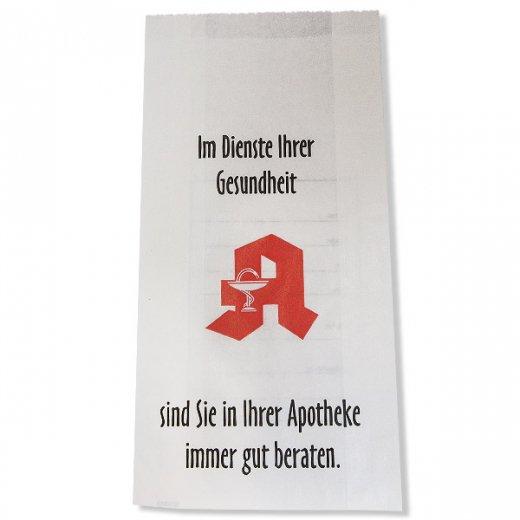 マルシェ袋 ドイツ 海外市場の紙袋(薬局) 5枚セット【画像3】