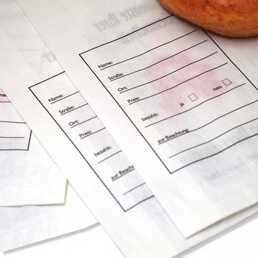 マルシェ袋 ドイツ 海外市場の紙袋(薬局) 5枚セット【画像4】