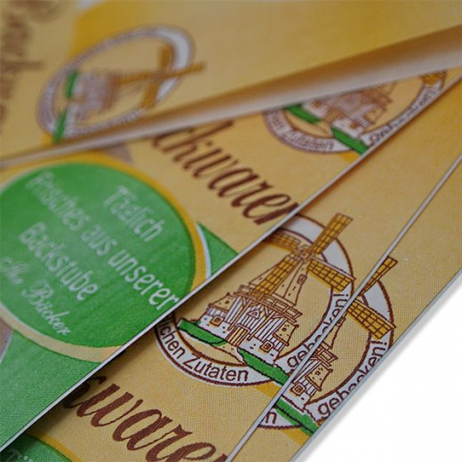 マルシェ袋 ドイツ 海外市場の紙袋(ベーカリー)5枚セット【画像5】