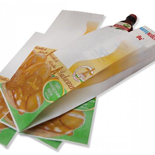 マルシェ袋 ドイツ 海外市場の紙袋(ベーカリー)5枚セット【画像6】