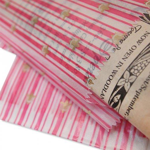 マルシェ袋 ドイツ 海外市場の紙袋(百合の紋章) 5枚セット【画像4】