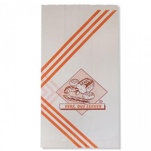 マルシェ袋 オランダ 海外市場の紙袋(ベーカリー)5枚セット【画像2】