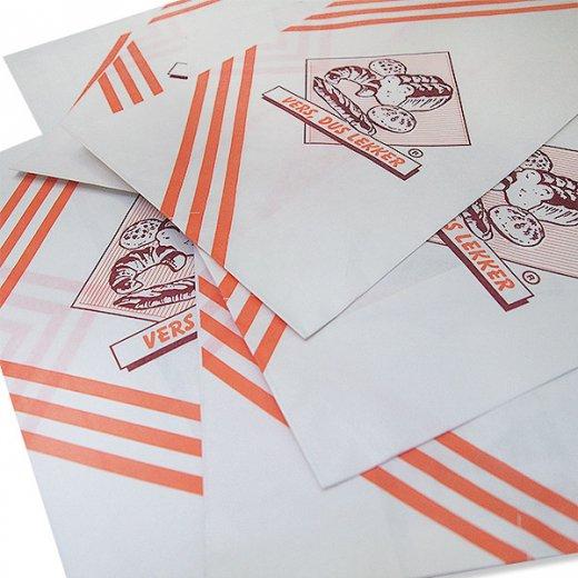 マルシェ袋 オランダ 海外市場の紙袋(ベーカリー)5枚セット【画像5】