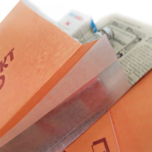 マルシェ袋 オランダ 海外市場の紙袋(ベーカリー・グラシン)5枚セット【画像3】