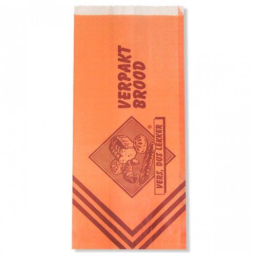 マルシェ袋 オランダ 海外市場の紙袋(ベーカリー・グラシン)5枚セット【画像5】