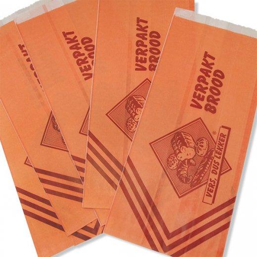 マルシェ袋 オランダ 海外市場の紙袋(ベーカリー・グラシン)5枚セット【画像6】
